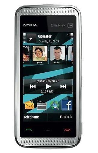 Nokia 5530 XpresMusic White Blue