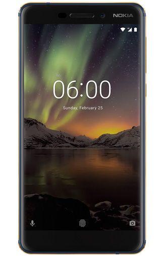 Productafbeelding van de Nokia 6.1 64GB Blue