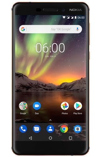 Productafbeelding Nokia 6.1 32GB Black