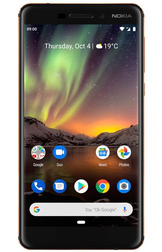 Nokia 6.1 Dual Sim 32GB Black