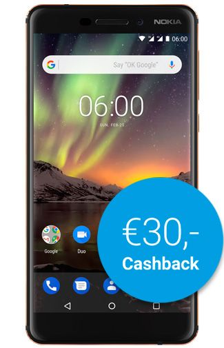 Productafbeelding Nokia 6.1 32GB Black