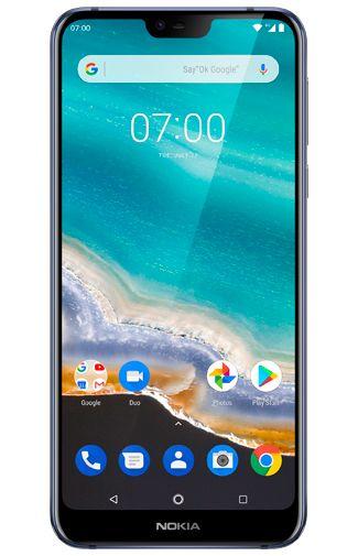 Productafbeelding van de Nokia 7.1 64GB Blue