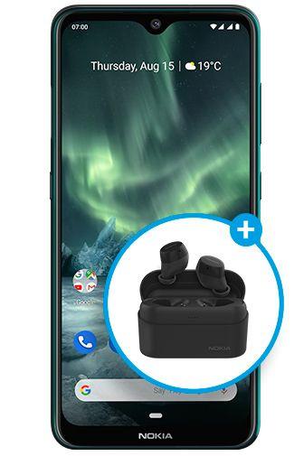 Productafbeelding van de Nokia 7.2 Green