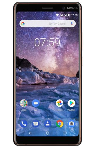 Productafbeelding van de Nokia 7 Plus Single Sim