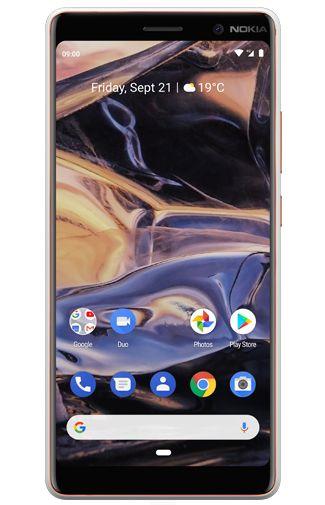 Productafbeelding van de Nokia 7 Plus Dual Sim White