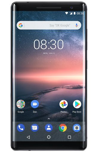 Nokia 8 Sirocco Limited Edition Black