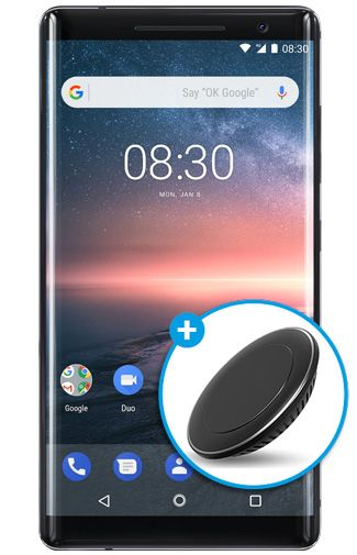 Productafbeelding Nokia 8 Sirocco Limited Edition Black