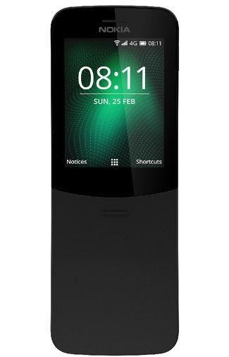 Productafbeelding van de Nokia 8110 4G Black