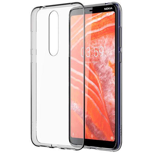 Nokia Back Case Transparent Nokia 3.1 Plus