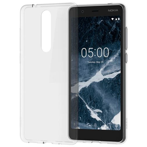 Nokia Back Case Transparent Nokia 5.1