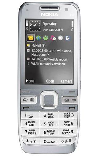 Nokia E52 Navigation White