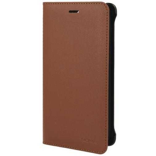 Nokia Leather Flip Cover Brown Nokia 8