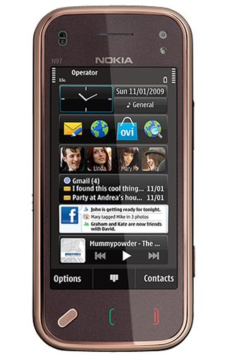 Nokia N97 Mini Garnet