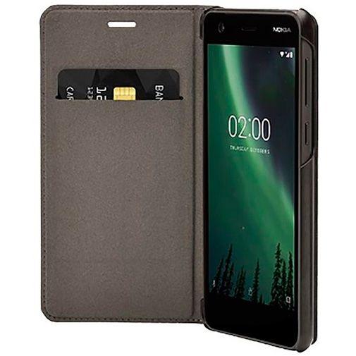 Productafbeelding van de Nokia Slim Flip Case Black Nokia 2