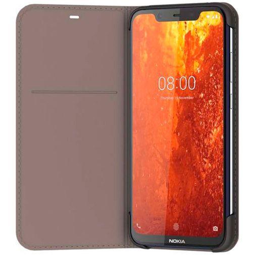 Productafbeelding van de Nokia Slim Flip Case Grey Nokia 8.1