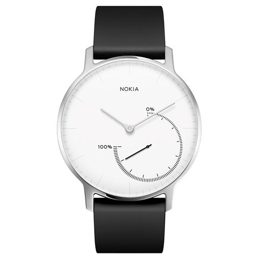 Nokia Smartwatch Type Steel Black White