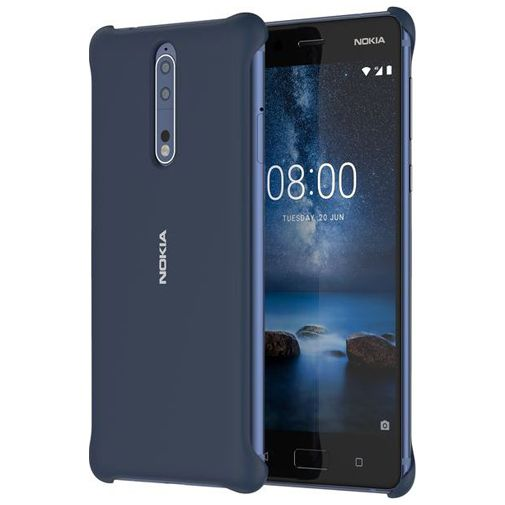 Nokia Soft Back Case Blue Nokia 8