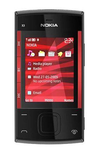 Nokia X3 Black Red