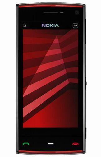 Nokia X6 16GB Black Red