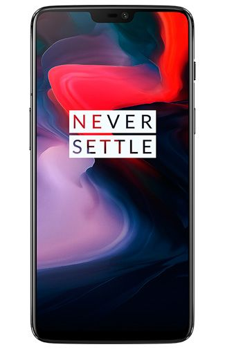 Productafbeelding van de OnePlus 6 64GB Mirror Black