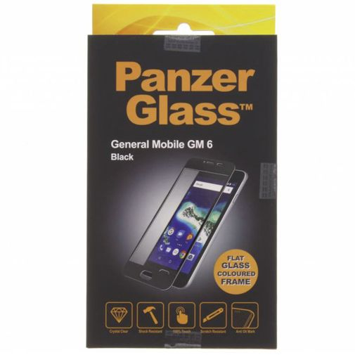 Productafbeelding van de PanzerGlass Screenprotector Black General Mobile GM6