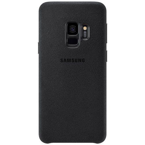 Productafbeelding van de Samsung Alcantara Cover Black Galaxy S9
