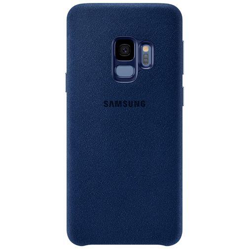 Productafbeelding van de Samsung Alcantara Cover Blue Galaxy S9