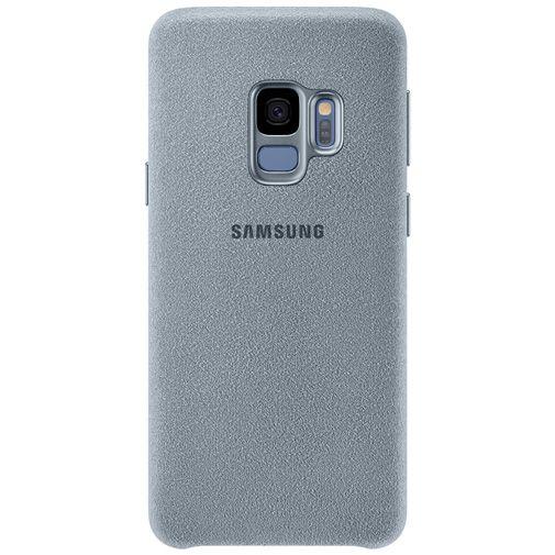 Productafbeelding van de Samsung Alcantara Cover Grey Galaxy S9