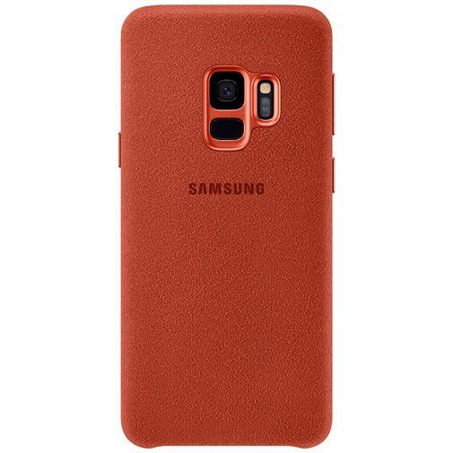 Productafbeelding van de Samsung Alcantara Cover Red Galaxy S9