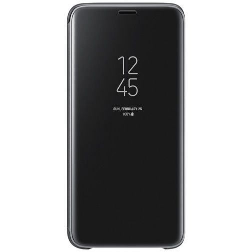 Productafbeelding van de Samsung Clear View Standing Cover Black Galaxy S9