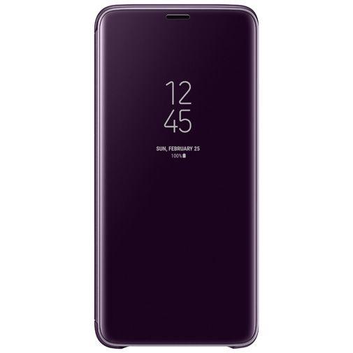 Productafbeelding van de Samsung Clear View Standing Cover Purple Galaxy S9+