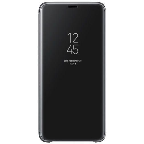 Productafbeelding van de Samsung Clear View Standing Cover Black Galaxy S9+