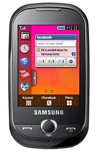Samsung Corby S3650 Orange