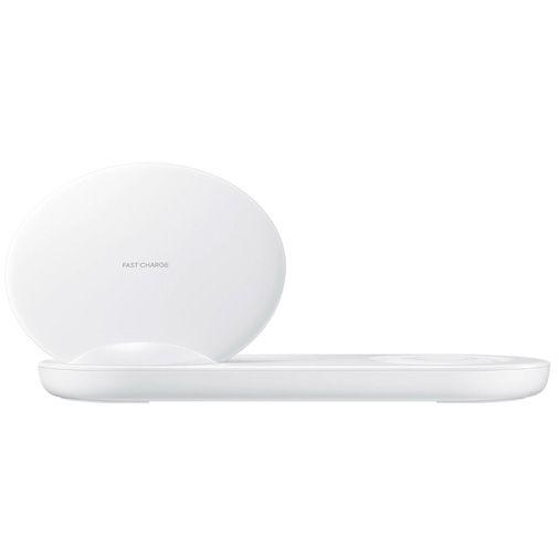 Productafbeelding van de Samsung Draadloze Snellader Duo EP-N6100 White