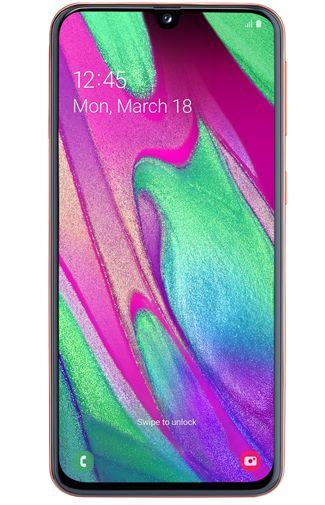 Productafbeelding van de Samsung Galaxy A40 Coral