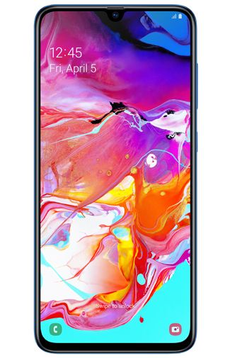 Productafbeelding van de Samsung Galaxy A70 Blue