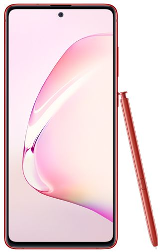 Productafbeelding van de Samsung Galaxy Note 10 Lite N770 Red