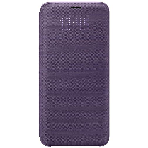 Productafbeelding van de Samsung LED View Cover Purple Galaxy S9
