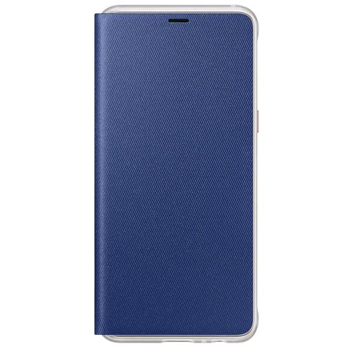 Samsung Neon Flip Cover Blue Galaxy A8 (2018)