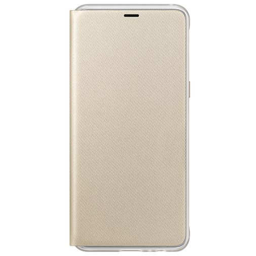Productafbeelding van de Samsung Neon Flip Cover Gold Galaxy A8 (2018)