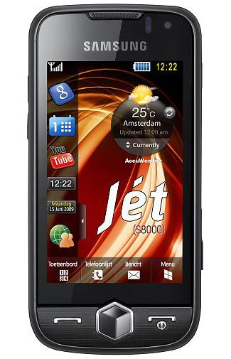 Samsung S8000 Jet Rose Black