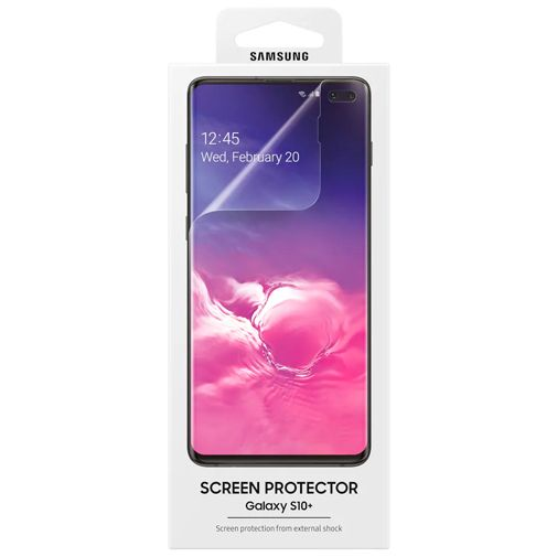 Samsung Screenprotector Transparent Galaxy S10+