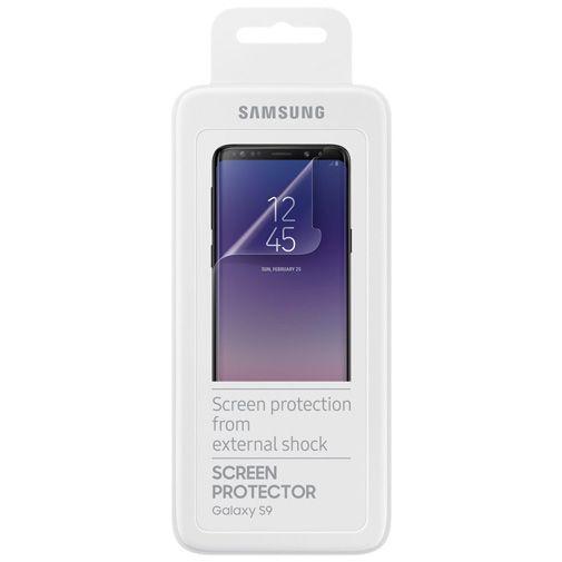 Samsung Screenprotector Transparent Galaxy S9