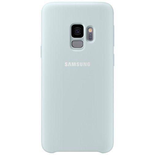 Productafbeelding van de Samsung Silicone Cover Blue Galaxy S9