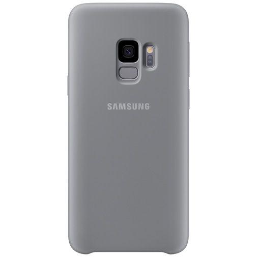 Productafbeelding van de Samsung Silicone Cover Grey Galaxy S9