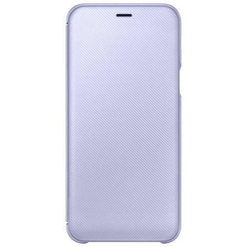 Samsung Wallet Cover Purple Galaxy A6