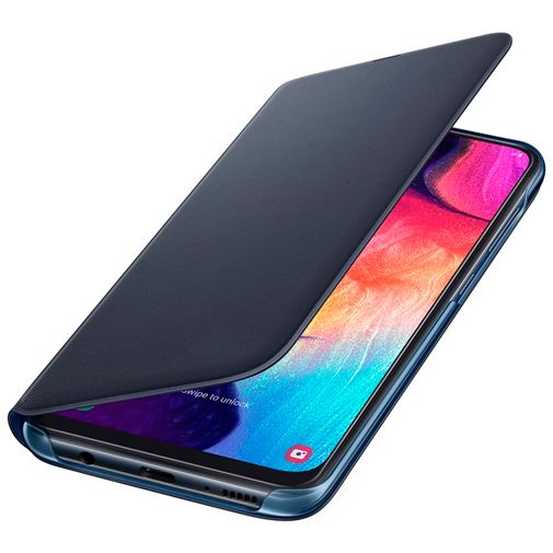 Productafbeelding van de Samsung Wallet Cover Black Galaxy A50