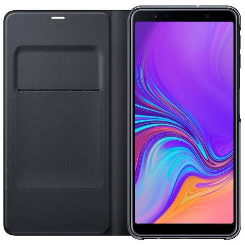 Samsung Wallet Cover Black Galaxy A7 (2018)