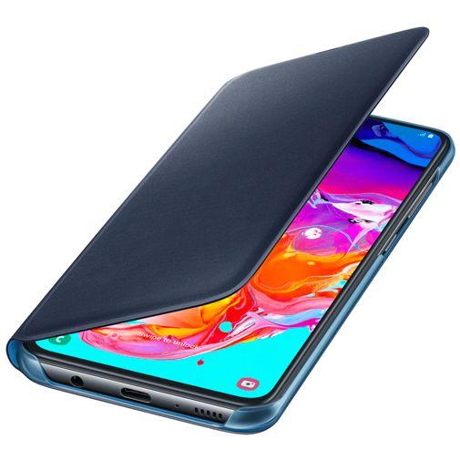 Samsung Wallet Cover Black Galaxy A70