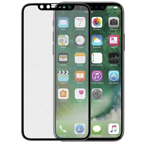 ScreenArmor Glass Armor Edge-to-Edge Screenprotector Black Apple iPhone X/S